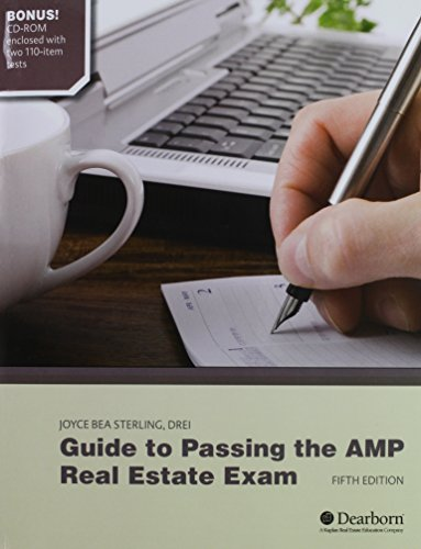 Guide to Passing the AMP Real Estate Exam 5th 2012 9781427724922 Front Cover