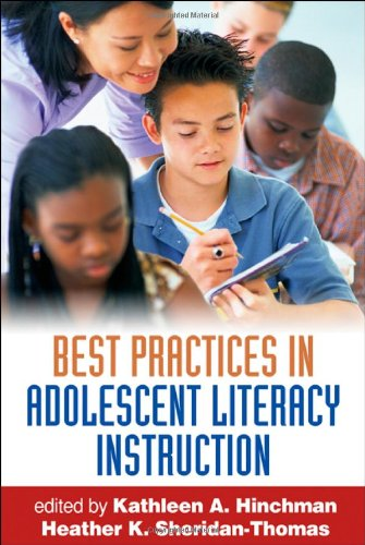 Best Practices in Adolescent Literacy Instruction   2008 edition cover