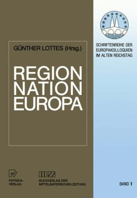 Region, Nation, Europa   1992 edition cover