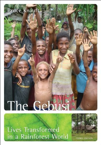 Gebusi: Lives Transformed in a Rainforest World  3rd 2013 edition cover