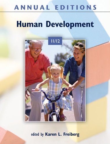 Human Development 11/12  40th 2012 9780078050923 Front Cover
