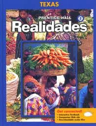 Prentice Hall Spanish Realidades Level 2   2008 (Student Manual, Study Guide, etc.) 9780131340923 Front Cover