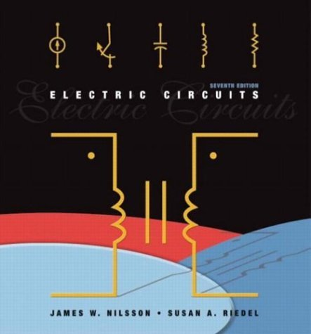 Electric Circuits  7th 2005 edition cover