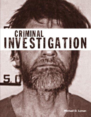 Criminal Investigation   2013 edition cover