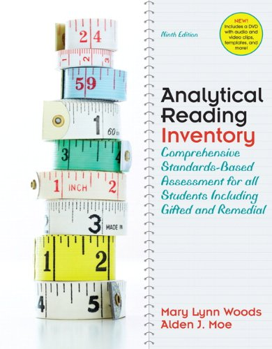 Analytical Reading Inventory Comprehensive Standards-Based Assessment for All Students Including Gifted and Remedial 9th 2011 edition cover