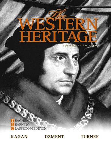 Western Heritage, 1300-1815  6th 2010 edition cover