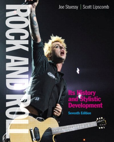 Rock and Roll + Mysearchlab With Etext: Its History and Stylistic Development  2012 edition cover