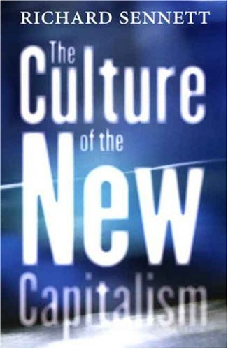 Culture of the New Capitalism   2007 edition cover