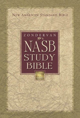 NASB Study Bible   2000 edition cover