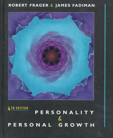Personality and Personal Growth  4th 1998 9780321011923 Front Cover