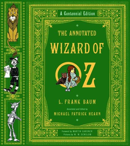 Annotated Wizard of Oz   2000 (Annotated) edition cover