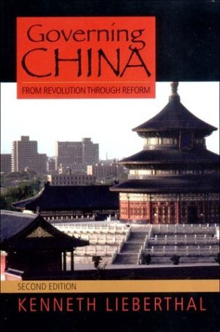 Governing China From Revolution Through Reform 2nd 2003 edition cover