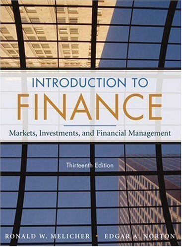 Finance Markets, Investments, and Financial Management 13th 2008 edition cover
