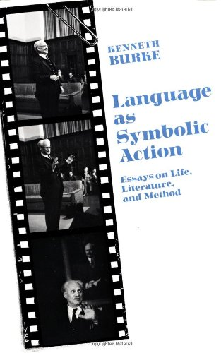 Language as Symbolic Action Essays on Life, Literature, and Method  1966 (Reprint) edition cover