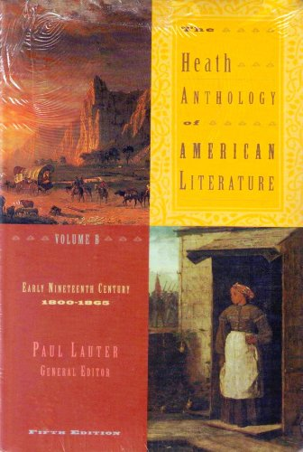 Anthology of American Literature 5th 2006 edition cover