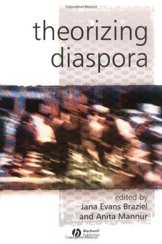 Theorizing Diaspora A Reader  2003 edition cover