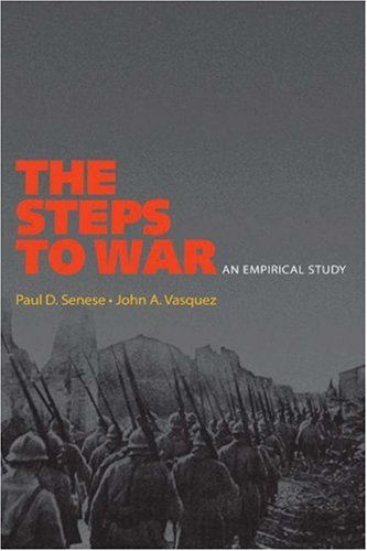 Steps to War An Empirical Study  2008 edition cover