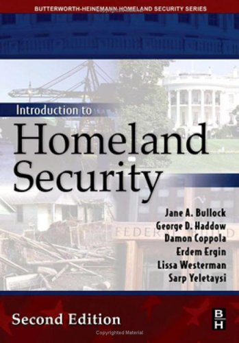 Introduction to Homeland Security  2nd 2006 (Revised) 9780750679923 Front Cover