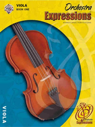 Orchestra Expressions, Book One Student Edition Viola, Book and CD  2004 edition cover
