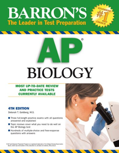 Barron's AP Biology, 4th Edition  4th 2013 (Revised) edition cover