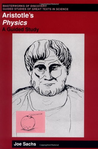 Aristotle's Physics A Guided Study  1995 edition cover