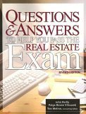 Questions and Answers to Help You Pass the Real Estate Exam 7th 2005 (Revised) edition cover