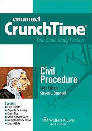 Civil Procedure  6th (Student Manual, Study Guide, etc.) edition cover