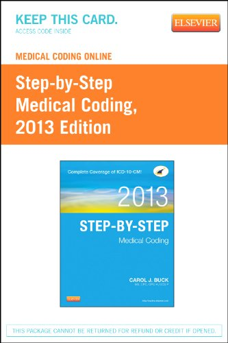 Medical Coding Online for Step-by-Step Medical Coding 2013:   2012 edition cover