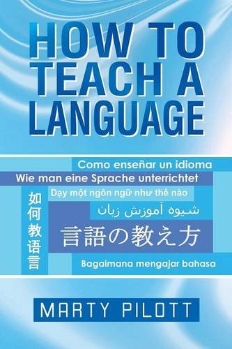 How to Teach a Language   2013 9781483659923 Front Cover