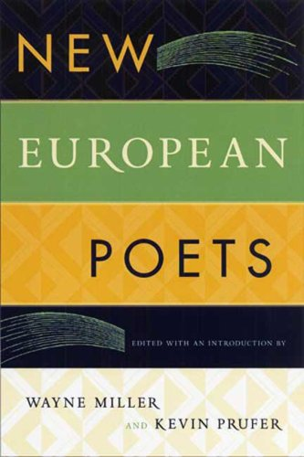 New European Poets  N/A edition cover