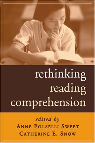 Rethinking Reading Comprehension   2003 edition cover