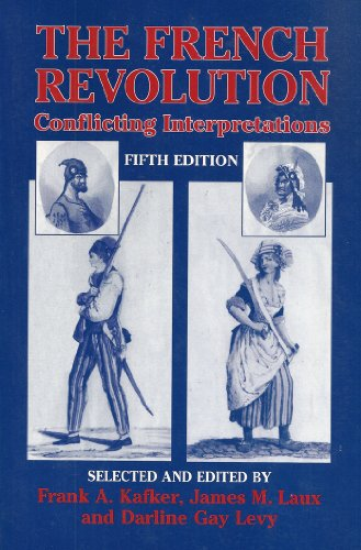 French Revolution Conflicting Interpretations 5th 2002 edition cover