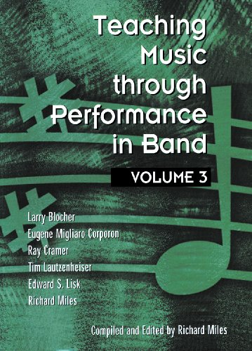 Teaching Music Through Performance in Band 1st 2001 edition cover