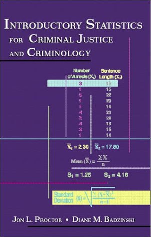Introductory Statistics for Criminal Justice and Criminology   2002 edition cover