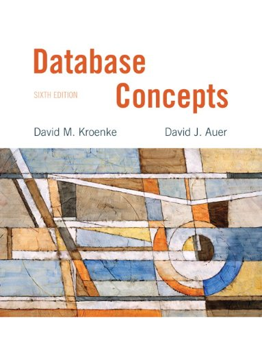 Database Concepts  6th 2013 edition cover