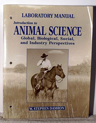 Introduction to Animal Science   2000 (Lab Manual) 9780132809924 Front Cover