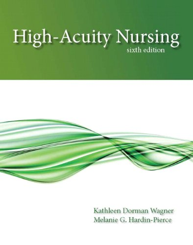 High-Acuity Nursing  6th 2014 edition cover