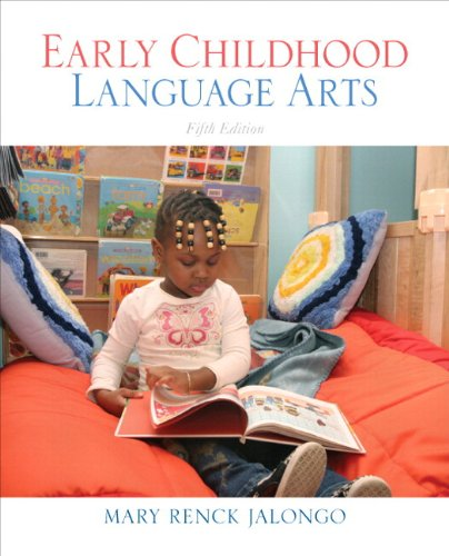 Early Childhood Language Arts (with MyEducationKit)  5th 2011 9780137073924 Front Cover