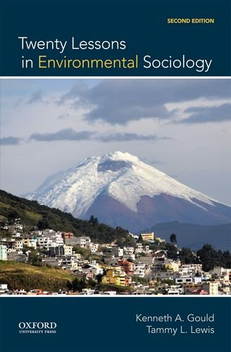 Twenty Lessons in Environmental Sociology:   2014 9780199325924 Front Cover