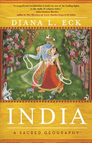 India A Sacred Geography  2013 edition cover