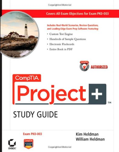 CompTIA Project+ Exam PK0-003  2010 (Guide (Pupil's)) edition cover