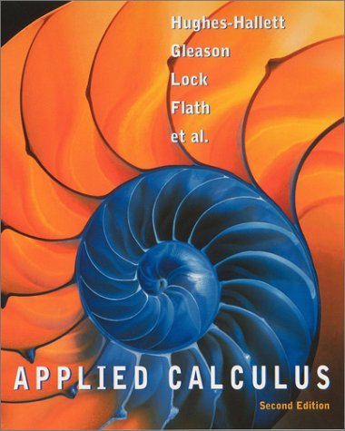 Applied Calculus  2nd 2003 (Revised) edition cover