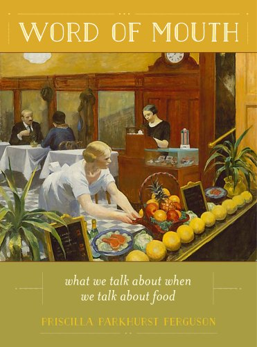 Word of Mouth What We Talk about When We Talk about Food  2014 edition cover