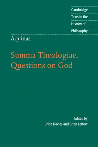 Aquinas: Summa Theologiae, Questions on God   2006 edition cover