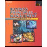 Business Principles and Management  11th 2001 9780538698924 Front Cover