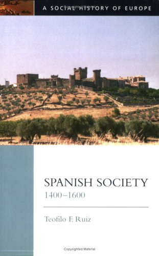 Spanish Society, 1400-1600   2001 edition cover