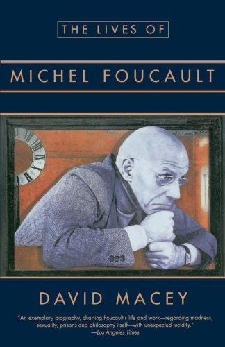 Lives of Michel Foucault   1994 edition cover