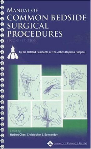 Manual of Common Bedside Surgical Procedures  2nd 2000 (Revised) edition cover