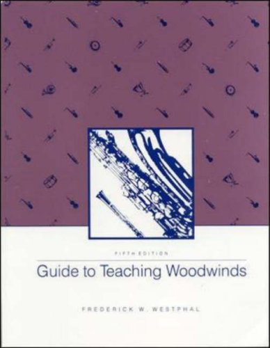 Guide to Teaching Woodwinds  5th 1989 (Revised) edition cover