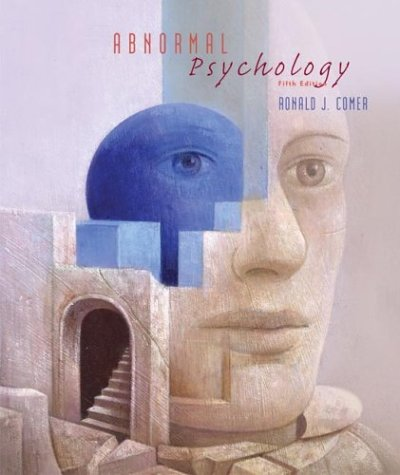 Abnormal Psychology  5th 2003 edition cover